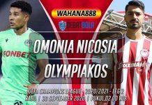 Prediksi Omonia Nicosia vs Olympiakos 30 September 2020