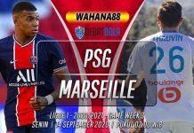 Prediksi PSG vs Marseille 14 September 2020