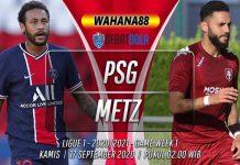 Prediksi PSG vs Metz 17 September 2020