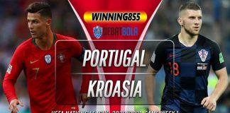 Prediksi Portugal vs Kroasia 6 September 2020