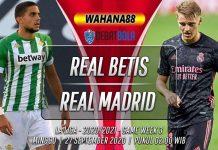 Prediksi Real Betis vs Real Madrid 27 September 2020