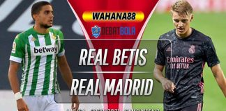 Prediksi Real Betis vs Real Madrid 27 September 2020
