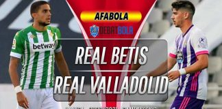 Prediksi Real Betis vs Real Valladolid 20 September 2020
