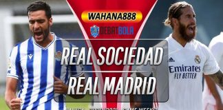 Prediksi Real Sociedad vs Real Madrid 21 September 2020