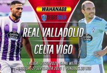 Prediksi Real Valladolid vs Celta Vigo 27 September 2020