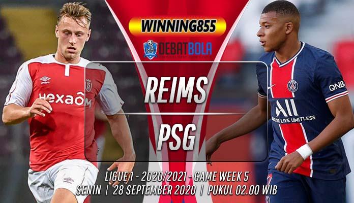 Prediksi Reims vs PSG 28 September 2020