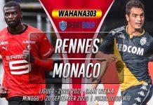 Prediksi Rennes vs Monaco 20 September 2020