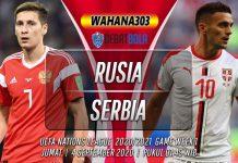 Prediksi Rusia vs Serbia 4 September 2020