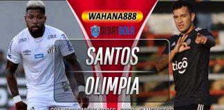Prediksi Santos vs Club Olimpia 16 September 2020
