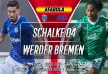 Prediksi Schalke 04 vs Werder Bremen 26 September 2020