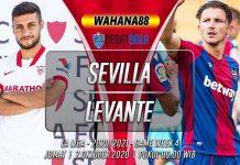 Prediksi Sevilla vs Levante 2 Oktober 2020