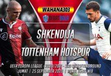 Prediksi Shkendija vs Tottenham Hotspur 25 September 2020