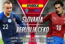 Prediksi Slovakia vs Republik Ceko 5 September 2020