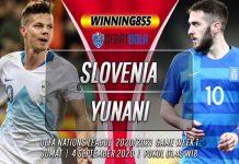 Prediksi Slovenia vs Yunani 4 September 2020