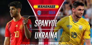 Prediksi Spanyol vs Ukraina 7 September 2020