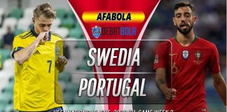 Prediksi Swedia vs Portugal 9 September 2020