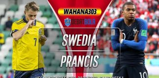 Prediksi Swedia vs Prancis 6 September 2020