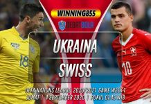 Prediksi Ukraina vs Swiss 4 September 2020