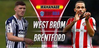 Prediksi West Brom vs Brentford 23 September 2020