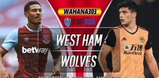 Prediksi West Ham vs Wolves 28 September 2020