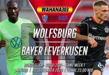 Prediksi Wolfsburg vs Bayer Leverkusen 20 September 2020