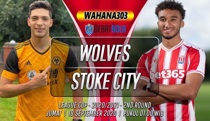 Prediksi Wolves vs Stoke City 18 September 2020