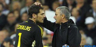 Iker Casillas Ungkap Hubungannya Dengan Jose Mourinho