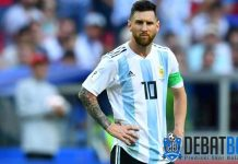 Kemenangan Argentina Diwarnai Perselisihan Lionel Messi
