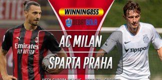 Prediksi AC Milan vs Sparta Praha 30 Oktober 2020