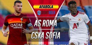 Prediksi AS Roma vs CSKA Sofia 30 Oktober 2020