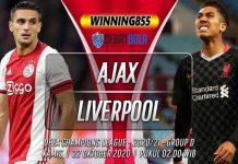 Prediksi Ajax vs Liverpool 22 Oktober 2020