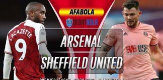 Prediksi Arsenal vs Sheffield United 4 Oktober 2020