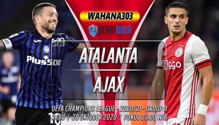 Prediksi Atalanta vs Ajax 28 Oktober 2020