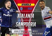 Prediksi Atalanta vs Sampdoria 24 Oktober 2020