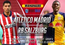 Prediksi Atletico Madrid vs RB Salzburg 28 Oktober 2020