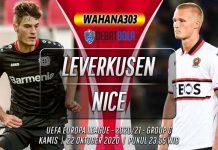Prediksi Bayer Leverkusen vs Nice 22 Oktober 2020