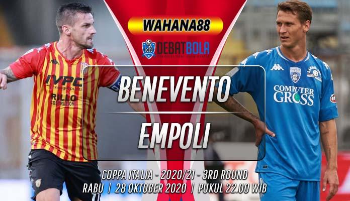 Prediksi Benevento vs Empoli 28 Oktober 2020
