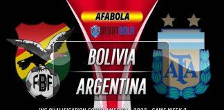 Prediksi Bolivia vs Argentina 14 Oktober 2020