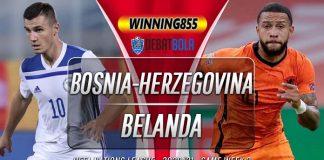 Prediksi Bosnia-Herzegovina vs Belanda 11 Oktober 2020