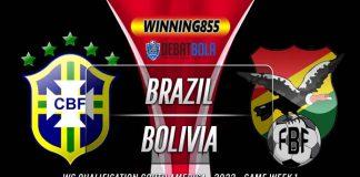 Prediksi Brazil vs Bolivia 10 Oktober 2020