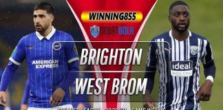 Prediksi Brighton vs West Brom 27 Oktober 2020