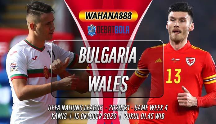 Prediksi Bulgaria vs Wales 15 Oktober 2020