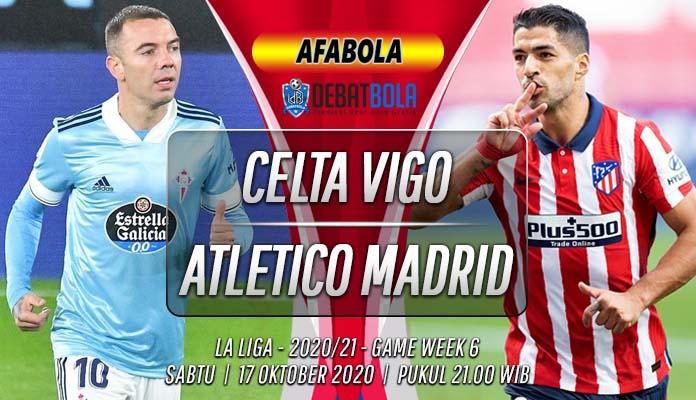 Prediksi Celta Vigo vs Atletico Madrid 17 Oktober 2020