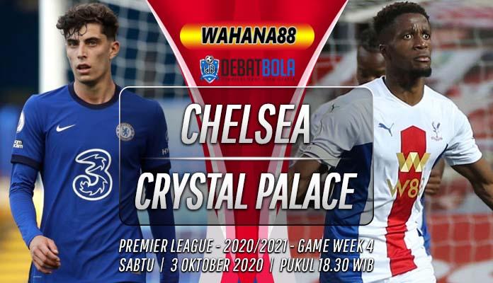 Prediksi Chelsea vs Crystal Palace 3 Oktober 2020