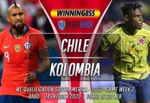 Prediksi Chile vs Kolombia 14 Oktober 2020
