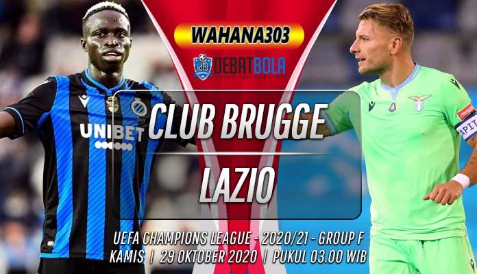 Prediksi Club Brugge vs Lazio 29 Oktober 2020
