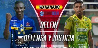 Prediksi Delfin vs Defensa y Justicia 2 Oktober 2020