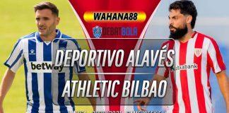 Prediksi Deportivo Alavés vs Athletic Bilbao 4 Oktober 2020
