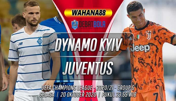 Prediksi Dynamo Kyiv vs Juventus 20 Oktober 2020