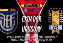 Prediksi Ekuador vs Uruguay 14 Oktober 2020